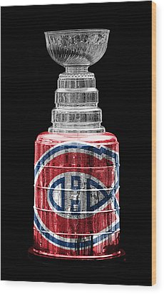 Stanley Cup 7 Wood Print by Andrew Fare