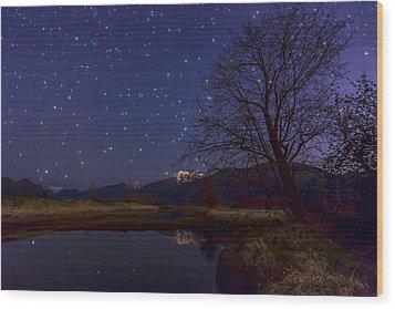 Star Light Star Bright Wood Print by James Wheeler