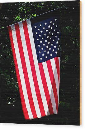 Wood Print featuring the photograph Star Spangled Banner by Greg Simmons