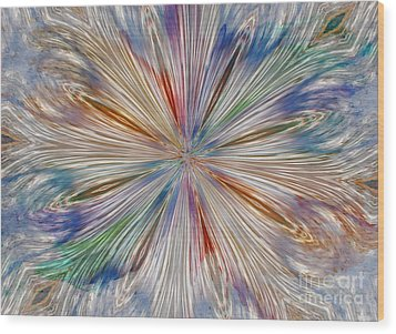 Wood Print featuring the photograph Starburst by Geraldine DeBoer