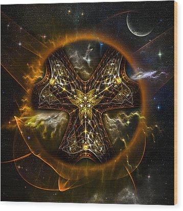 Starcatcher Wood Print