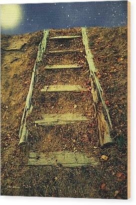 Starclimb Wood Print by RC deWinter