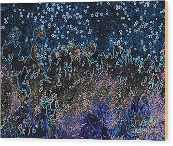 Stardust By Jrr Wood Print by First Star Art