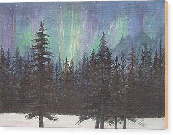 Starlight Dance Wood Print