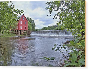 Starrs Mill Wood Print