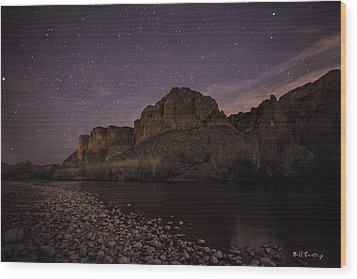 Starry Eyed Wood Print by Bill Cantey