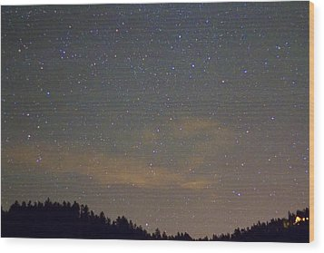 Starry Night Wood Print by James BO  Insogna