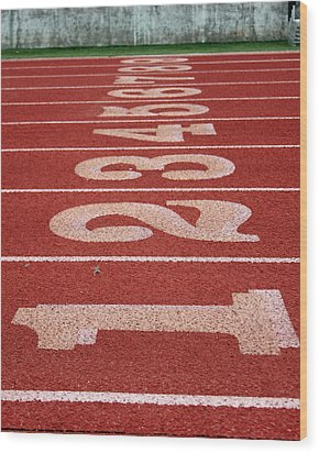 Starting Line Wood Print by Shoal Hollingsworth