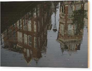 Wood Print featuring the photograph Starting To Rain... by Georgia Mizuleva