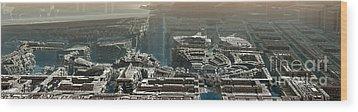 Starwars Wood Print by Bernard MICHEL