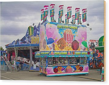 Wood Print featuring the photograph State Fair by Steven Bateson