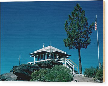 State Line Lookout 1956 2 Wood Print by Cumberland Warden