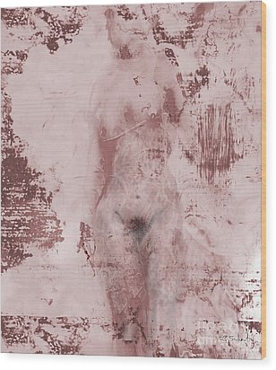 Statue Wood Print by Gabrielle Schertz