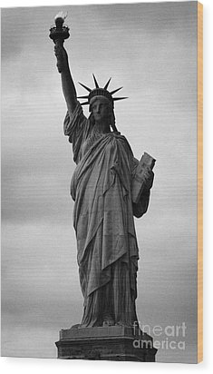 Statue Of Liberty National Monument Liberty Island New York City Nyc Usa Wood Print by Joe Fox
