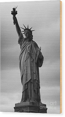 Statue Of Liberty New York City Usa Wood Print by Joe Fox
