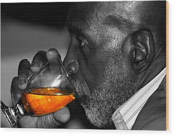 Stay Thirsty My Friend Wood Print by Jerome Lynch