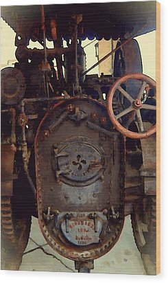 Steam Power Wood Print