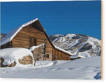 Steamboat Springs Colorado Wood Print by Teri Virbickis