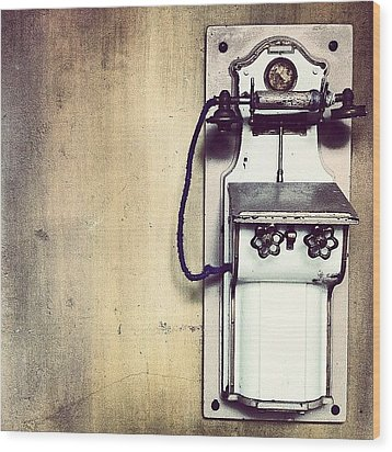 Steampunk Gypsyphone Wood Print by Kevin Ohr