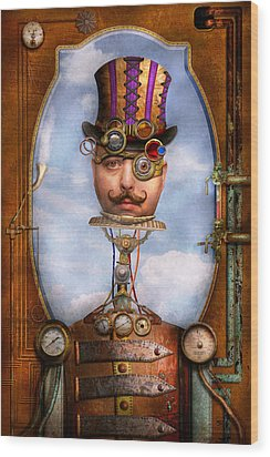 Steampunk - Integrated Wood Print by Mike Savad