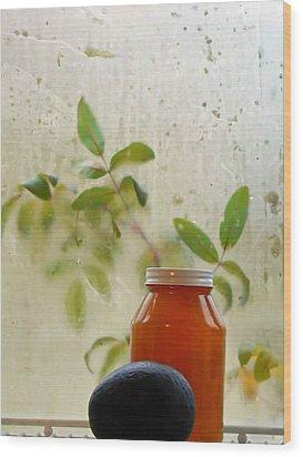 Steamy Window Wood Print by Pamela Patch