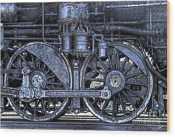Steel Wood Print by Alana Ranney