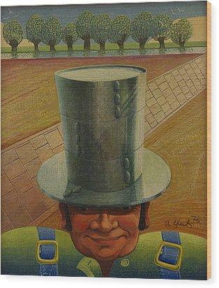 Steely Dan The Straightway Man Wood Print by Arthur Glendinning