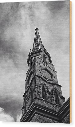 Steepled  Wood Print