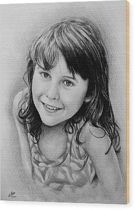 Stefanie Wood Print by Andrew Read