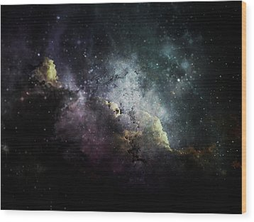 Wood Print featuring the photograph Stellar 2 by Cynthia Lassiter