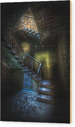 Step Into The Light Wood Print by Nathan Wright
