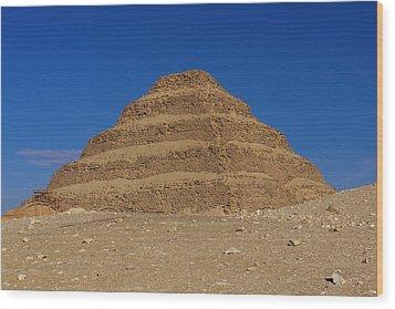 Step Pyramid Of King Djoser At Saqqara  Wood Print