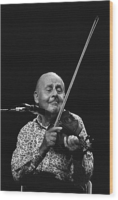 Stephane Grappelli   Wood Print