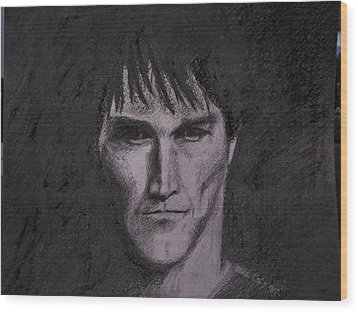 Stephen Moyer Wood Print