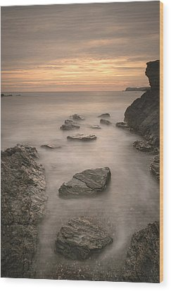 Stepping Stones To Oblivion Wood Print by Andy Astbury