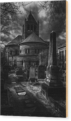 Steps Into The Past Wood Print by Lynn Palmer