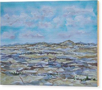Steptoe Butte 1 Wood Print by Lynne Haines