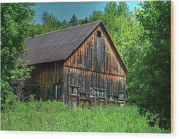 Sterling Valley Barn Wood Print