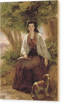 Sternes Maria, From A Sentimental Wood Print by William Powell Frith