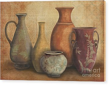 Still Life-c Wood Print by Jean Plout