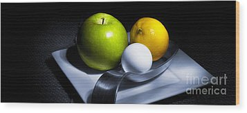 Wood Print featuring the photograph Still Life Eclectic 2 by Cecil Fuselier
