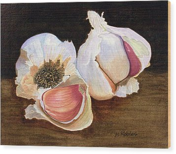 Still Life No. 2 Wood Print by Mike Robles