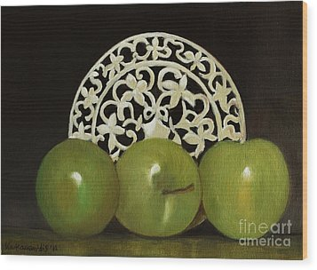 Still Life No-7 Wood Print by Kostas Koutsoukanidis