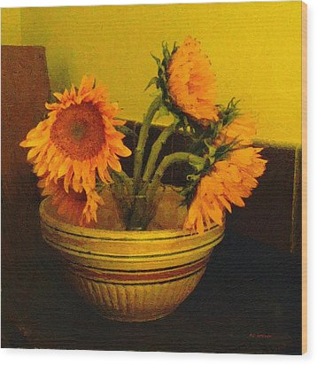 Still Life September Wood Print by RC deWinter