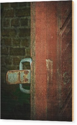 Still Waiting At Your Gate Wood Print by Odd Jeppesen
