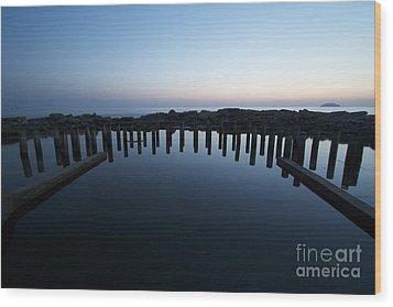 Wood Print featuring the photograph Stillness. by Gary Bridger