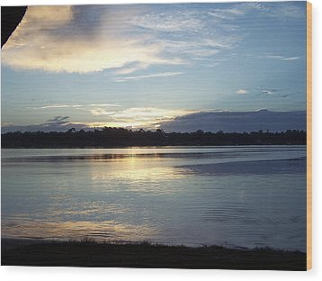 Wood Print featuring the photograph Stillness by Michele Kaiser