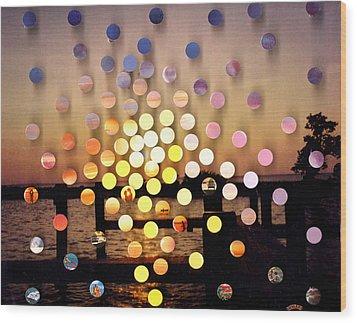Stmichaels Sunsetsegue1 Wood Print by Irmari Nacht