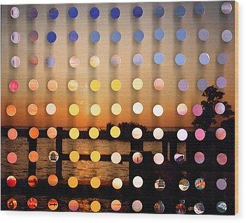 Stmichaels Sunsetsegue2 Wood Print by Irmari Nacht