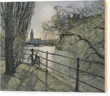Stockholm 10 Wood Print by Yury Malkov